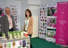 Promystas and Marina of Elburg Smit were present with their eco friendly pots. They notice that little by little the Russian market gets more interested in these kind of products.