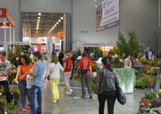A view at the exhibition floor