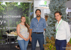 Treegrower Lorberg was also present and represented by Sophia, Sergey and Ilya. Lorberg grows trees in Moscow and Berlin.