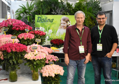 Jakov Sheinkman and Lev Sheinkman of Dolina came all the way from Isral to promote their products.