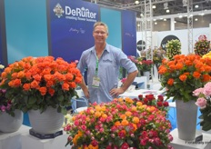 Arjen Vlasmans, representative of The Ruiter Innovations for the East-European market, notices flowers from Africa are doing well in Russia.