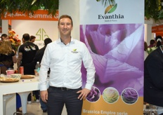 Marvin Grootendorst of Evanthia joined the booth of Nord Lommerse for the first time. Evanthia wants to introduce their genetics in the Russian market.