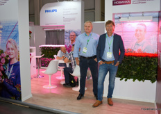 Sergey Khokhrin and Wilco Verkuil of Philips/Signify.