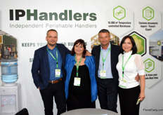 The crew of IPHandlers, Martin Mazhalns, Tatiana Graham and Eduard Eveleens together with hiw wife Kateriana. Once again IPHandlers was one of the sponsors of the expo and every visitor wore a keycord with their name on it.