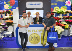 The logistics provider for Kenia, Colombia and Ecuador Champion was also on the expo and was represented by Edwin Herrandes, Lana Khuzoshvili, Fernando Rodriguez and Nelson Morales.