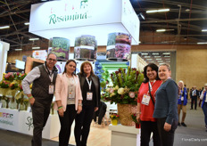 "The team of Rosamina. Protea is their main crop which they are supplying 52 weeks a year. ""And when we are low in production, we import from the South African and Portuguese growers we joined forces with."" Splendor is the import company (sister company of Rosamina) based in Miami, USA. In total, they grow 59 varieties at the farm."