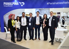 The team of Panalpina. Earlier this year, they took over CargoMaster and soon the name will change to DSV as DSV took over Panalpina.