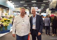 Willem Opperman and Ronald van Breevaart of Tessara Ptv Ltd were visiting the show.