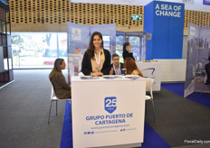 "This year, Proflora made a special booth to promote sea freight and named it A Sea of Change. One of the exhibitors: Juamita Macias Eslava of Grupo Puerto de Cartagena, the port in Cartagena where the majority of the flowers that are transported by sea leave the country. Over the last 5 years Eslava has seen the sea shipments of flowers rising.  ""Containers from Cartagena went up by 40% for Valentine's Day, when comparing to 2018."""