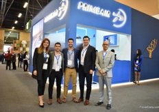 Margarita Suarez, Juan Carlos Manosalva, Jose Luis Suarez, Roger Paredes (owner) and Omar Zambrano (owner) of PrimeAir, which handles Emirates SkyCargo and Atlas Air.