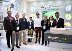 The team of Avgust Crop protection. This company – Russian from Origin – is in the business for 26-28 years now and supplies agricultural crop protection solutions.