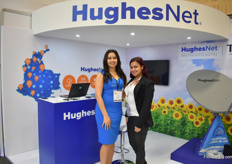 Lady Orega, Loren Ballesterez of HughesNet – a internet provider for farmers throughout Colombia and othe rLatin American countries.