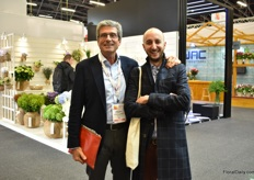 Fillippo Faccioli and Andrea Ginex of Myplant & Garden were also visiting the show. Myplant & Garden is an Italian ornamental show that will be held the end of February in Milan.