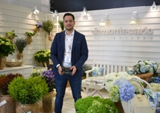 At Montecarlo, they won the 3rd prize in the category Best booth in show. They grow hydrangea, ruscus and solidago on 4ha and work with several small farmers. They export their products to Europe, US and Asia.