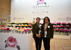 Nancy Montealegre and Maria Venegas of Alexandra Farms.