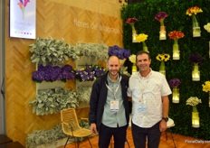 Flores de Altagracia from Medellin, at Proflora represented by Billy Loaize and Pedro Alzate, is a grower of calla, hydrangea, and two varieties of Dusty Miller.