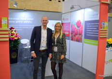 Mark and Tessa Weitjens with AgroCheck, providing credit information on companies in the worldwide horticulture industry.