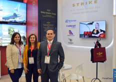 Rosanna Ramirez, Nathaly Forero, and Yesmar Mejia with Strike Aviation, working together with many different cargo flight operators such as Air Europe, Cubana Cargo, Interjet Cargo, and more.