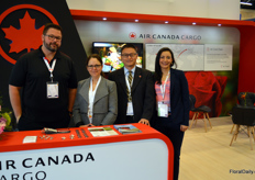 Air Canada, at the show represented by Rob Flood, Johanne Cadorette, Ocean Pan, and Lindsey Giraldo.