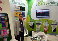 Ander Pedroza at eBiopacking, offering biodegradable packaging solutions to flower growers, food production & processing companies and more.