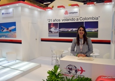 In Colombia, Cargolink represents Aero Mexico, Korean Air Cargo, and of course Cargolux, Vanessa Cadaya explains.
