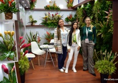 Two growers op tropical flowers and foliage, Napy and Palmitropicales, are part of the Tropiflowers Group. At Proflora, Zully Saenz, Paula Lince, and Johana Betancur where proud to present the assortment.