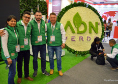 ADN Verde is a Colombian producer of biological crop protection. All products are 'green', that is, based on plant abstractions & containing no chemicals.