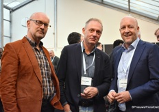 Anton Klunder of Adomex, Remco Jansen of MPS and Jeroen Oudheusden of FSI