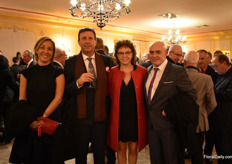 From Spain: Sarah Martin and Juan Noriega of Viveros Pereira and Charo Tejedor and Manolo SImo of Simo Tejedor Cultivos.