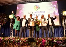 In the category Young Plants, the golden medal went to Danziger Guatemala. In this category, the awards were handed out by Tim Edwards, NFU Horticulture and Potatoes Board member.