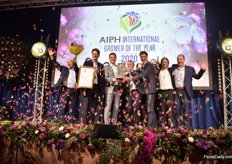 And the AIPH International Grower of the Year is..... Anthura!