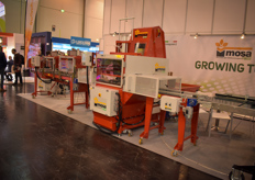 The Mosa Green products were shown at the show