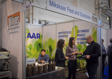 Mikskaar Peat and Substrates was present at the show