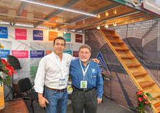 Ricardo Garcia of North American Allied and Alex Pacheco of ACEA.