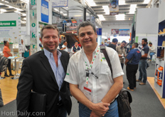 William Ison and Angel Urrutia of the Greenery. The Greenery has growers in Mexico on a total of 140 hectares.
