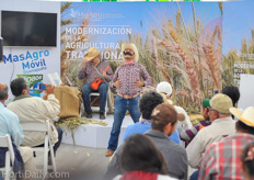 Special entertaining seminars on innovative agriculture.