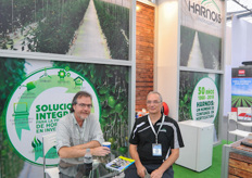 Harnois had a booth inside the expo, as well as a large demo Luminosa greenhouse outside.