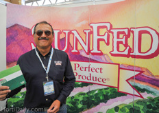 Juan Carlos Leon was previously with Stepac, but is now representing the growers of SunFed.