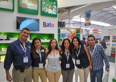 The sales team of Asesores en Invernaderos. An interview with them will follow on HortiDaily.com.