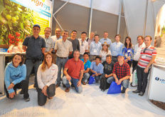 A large Brazilian delegation visited the show on Wednesday.