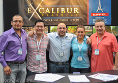 The team from Excalibur Plastics. An interview with them will follow on HortiDaily.com