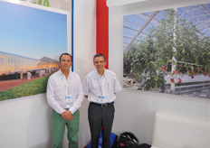 Raul Suarez and Renaud Josse of CMF.