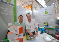 Armando Gonzalez and Sjef Minke of GreenTrade.
