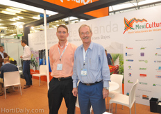 Frank Hoogendoorn of the Dutch Embassy together with Agricultural counselor Jean Rummenie.
