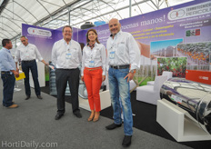 Peter Acutt, Mariangeles Alfierie and Mauro Pericoli of Termotecnica Pericoli. Mariangeles is the gerente for the recently found Central American subsidiary of Termotecnica Pericoli.