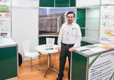 Francisco Ojedo of AMCI: the association for Mexican greenhouse builders and suppliers.