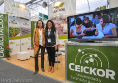 Berta Diaz and Aranza Martinez of Ceickor.