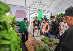 Many interest in OASIS hydroponic systems.