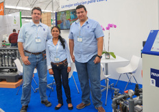 Maarten Hartong, Isela Alvarez and Javier Ojedo of Priva Mexico.