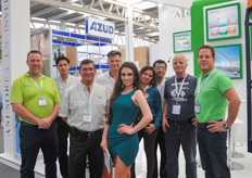 The team from Asesores en Invernaderos together with the group of Ducth suppliers.